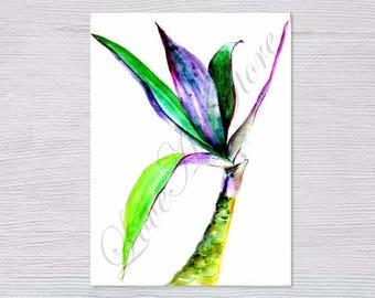 TRADESCANTIA White, Flower Prints, Instant download, Printable Artwork, Wall Art, Modern Art, Digital Print, Color Print, Nature Art, Gift