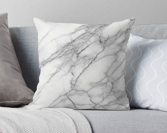 Marble Pillow | Marble Throw Pillow | Modern Pillow | Modern Throw Pillow | Marble Décor | Marble Pillow Cover | Modern Décor