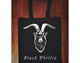 Black Phillip Tote Bag The Witch