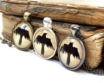 Crow Necklace - Raven Jewelry