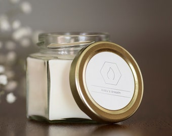 4 oz all natural soy candle