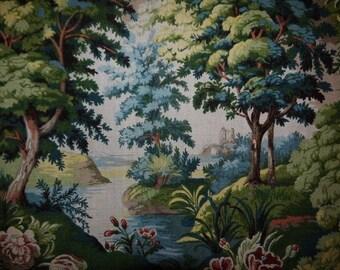 """Cortinas / cortina de longitud - tela de alta calidad - ropa-""""- Arthur Sanderson - Inglaterra - 1980"""