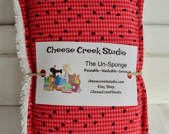 The Un-Sponge, Reusable Sponge, Kitchen Sponge, Eco-Friendly Sponge, Bath Sponge