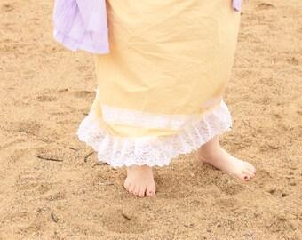 Pineapple Prairie Lady Skirt the sunwahsed prairie line