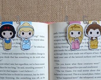 Magnetic Bookmarks • Princesses 1