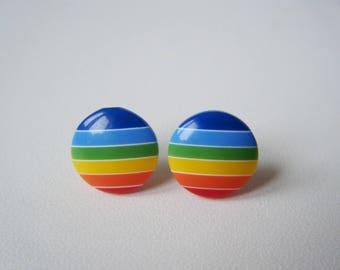 Earrings ♥ Rainbow sky ♥