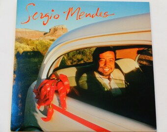 "Sergio Mendes - ""Carnaval"" - ""Never Going to Let You Go"" - Latin Pop - Bossa Nova - Samba - A&M Records 1983 - Vintage Vinyl LP Record Album"
