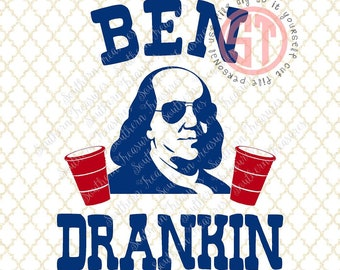 Ben Drankin Editable vector Cut File .eps .ai .svg and .pdf formats included INSTANT download