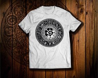 Azte Symbols T Shirt