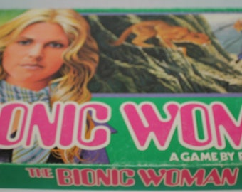 Vintage The Bionic Woman Board Game 1976 Parker Brothers Complete
