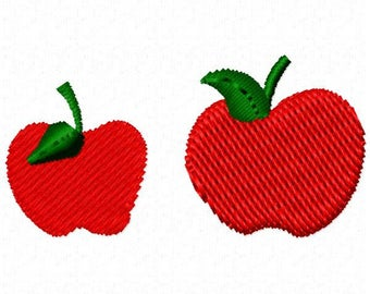 Apples Machine Embroidery Design - Instant Download