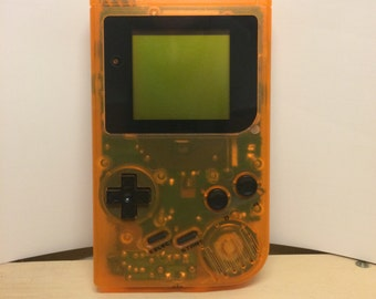 Clear Orange Nintendo Gameboy