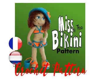 Tutorial doll Miss Bikini