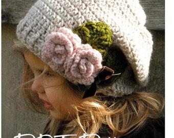 Crochet PATTERN-The Nala Slouchy (Toddler, Child, Adult sizes)