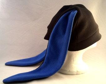 Custom black bunny rabbit hat long ears