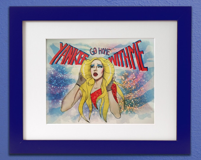 Hedwig and the Angry Inch Tribute art print