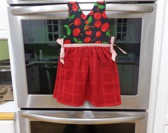 Sweet Cherries - Hanging Kitchen Towel
