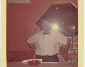 Vintage Snapshot Photo: Barkeep (711618)
