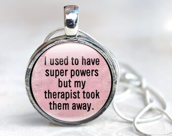 Funny Necklace - gift for her - necklace for women - womens gifts