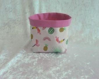 basket or empty exotic cotton Pocket