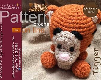 Tigger Pattern Crochet