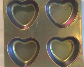 Vintage Wilton Heart Pan