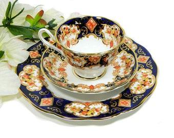 Royal Albert Derby Trio Cup Saucer Plate English Bone China
