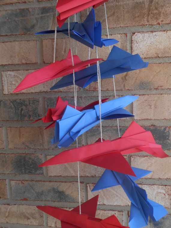 Paper Airplane F-16 Decorations. CHOOSE YOUR COLORS. Wedding Decoration, Party, Birthday, Travel Wedding.