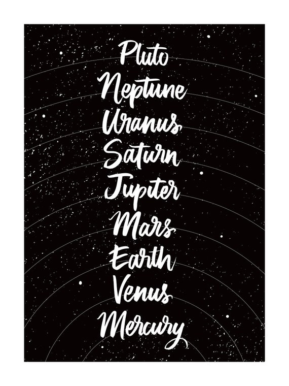 Lettered Planets