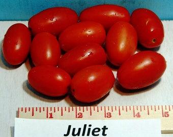 Juliet Tomato Heirloom Garden Seed  Naturally Grown Open Pollinated 30+ seeds Gardening