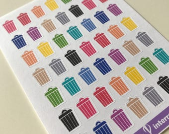 A34 - Trash Planner Stickers