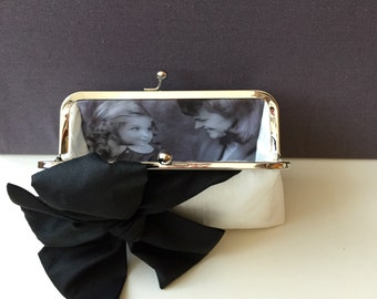 Black Clutch, Black Lace Wedding Clutch Purse, Mother of the bride clutch, Bridal Clutch, Bridesmaid Clutches, Party Clutch, Style C008