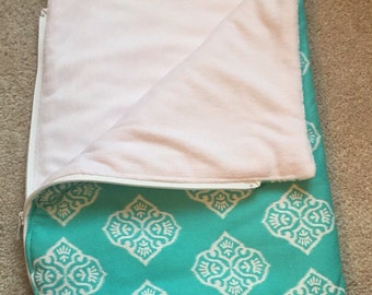 """18"""" doll aqua sleeping bag"""