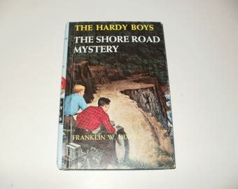 Vintage 1964 Book-The Hardy Boys-The Shore Road Mystery by Franklin W Dixon-A Who Dunnit - Collectible Book