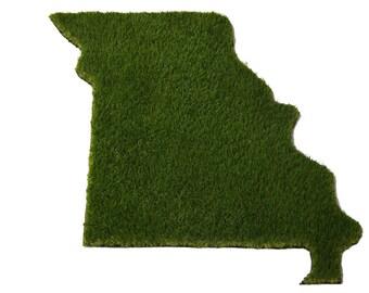 Missouri Synthetic Grass Doormat | Rug | Wall Decor