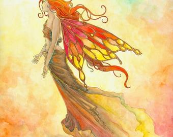 Autumn Fairy (print)