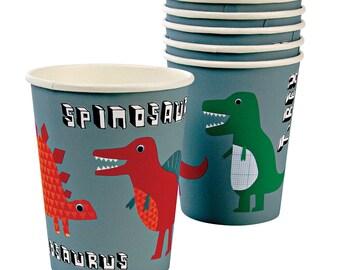 Roarrrr Dinosaur Party Cups x 12 Dinosaur Party Supplies