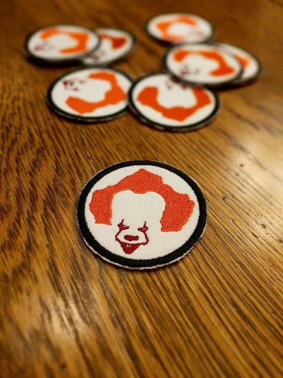 IT Patch (Pennywise, you'll float too, Stephen King, clown)