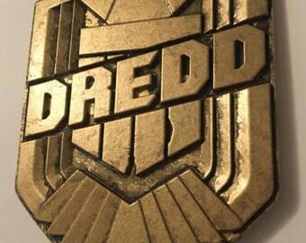 1:1 Scale Dredd Replica Badge