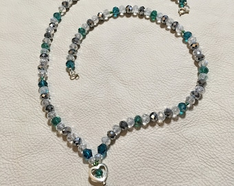 Rondelle Beaded Necklace