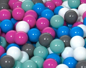 Children Plastic Balls for Ball Pits, play, Kids, Bouncy Castle 150 balls