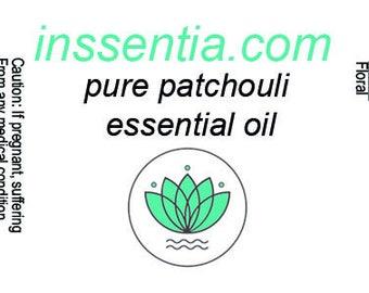 inssentia 100% pure patchouli essential oil