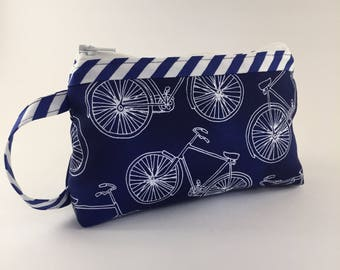 Clutch Wallet, Accessory Bag, Zippered Pouch