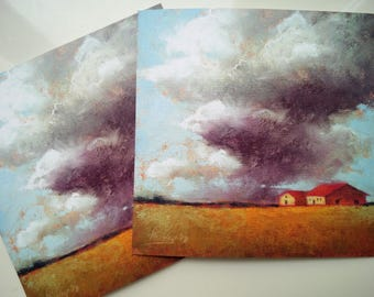 Quality print of an original soft pastel artwork