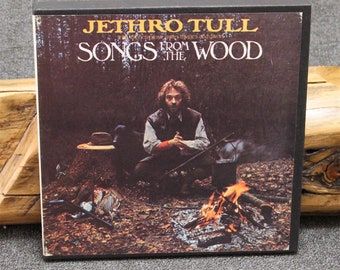 Jethro Tull Songs From The Wood Reel to Reel Tape 3-3/4 ips Play Tested MINT