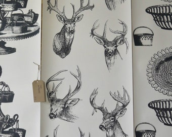 Stags Head Wallpaper