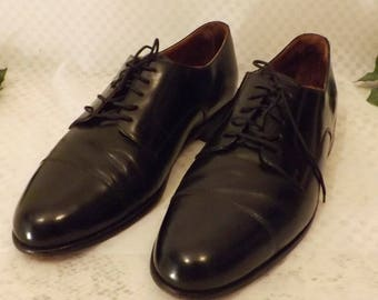 Bostonian Men's Black Cap Toe Oxford Dress Shoes Size 11