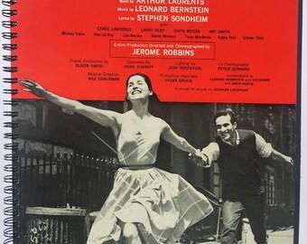 for the West Side Story (Original Broadway Cast vinyl  fans! Album Cover Notebook vintage!!!