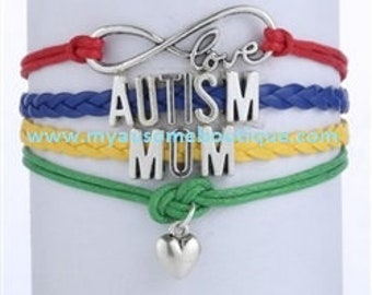 Autism Mom Cord Braclet