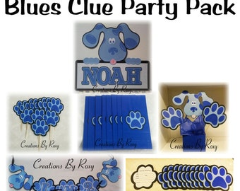 Blues Clue Party package set